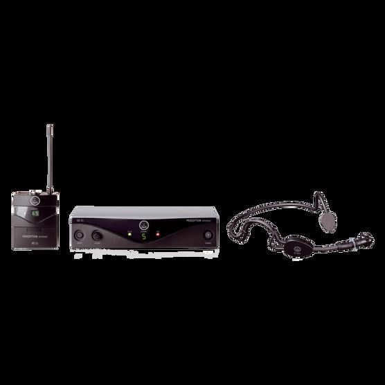 Perception Wireless 45 Sports Set Band-A - Black - High-performance wireless microphone system - Hero