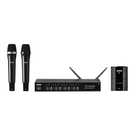 DMSTETRAD - Black - Professional four channel digital wireless system - Hero