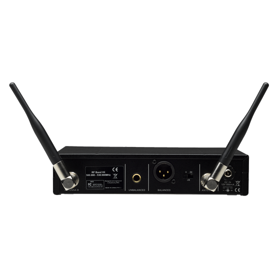 SR470 - Black - Professional wireless stationary receiver - Back