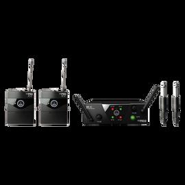 WMS40 Mini Dual Instrumental Set Band ISM2/3 - Black - Wireless microphone system - Hero