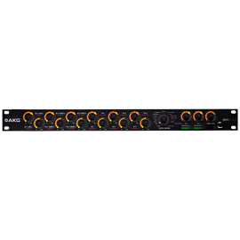 DMM14 ULD - Black - Reference digital automatic microphone mixer w/DANTE - Hero