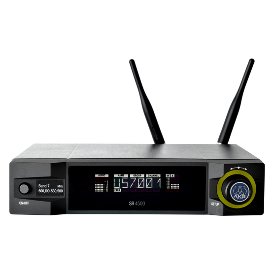 SR4500 - Black - Reference wireless stationary receiver - Hero