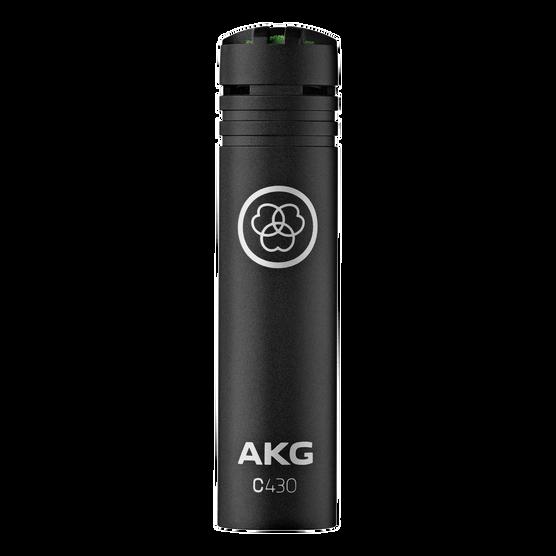 C430 - Black - Professional miniature condenser microphone - Hero