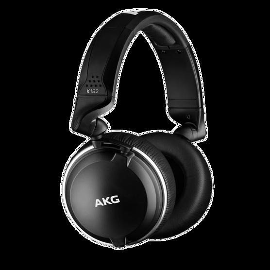 K182 - Black - Professional closed-back monitor headphones - Hero