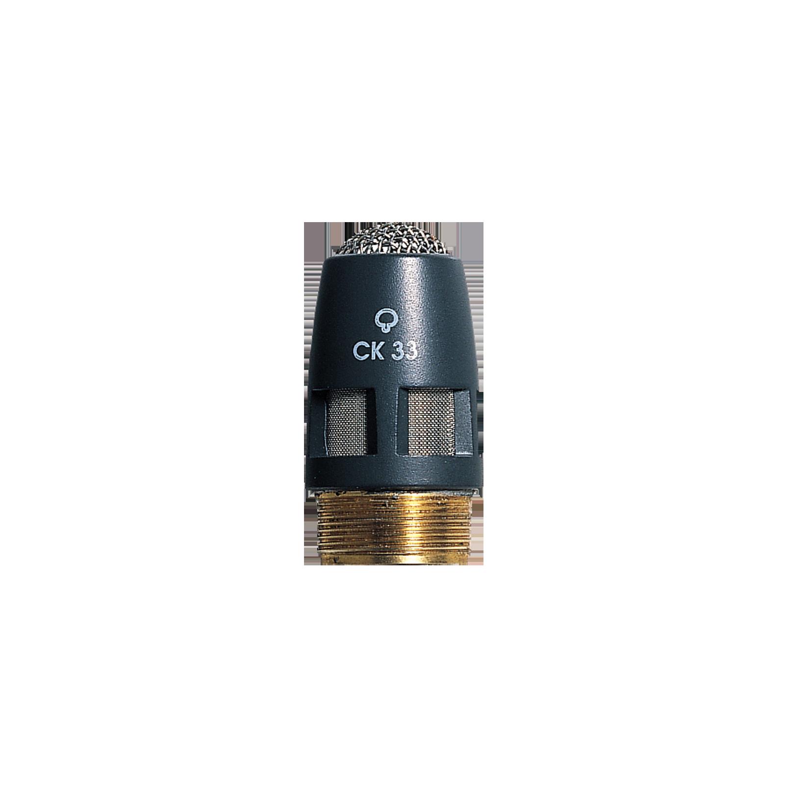 CK33 - Grey - High-performance hypercardioid condenser microphone capsule - DAM Series - Hero