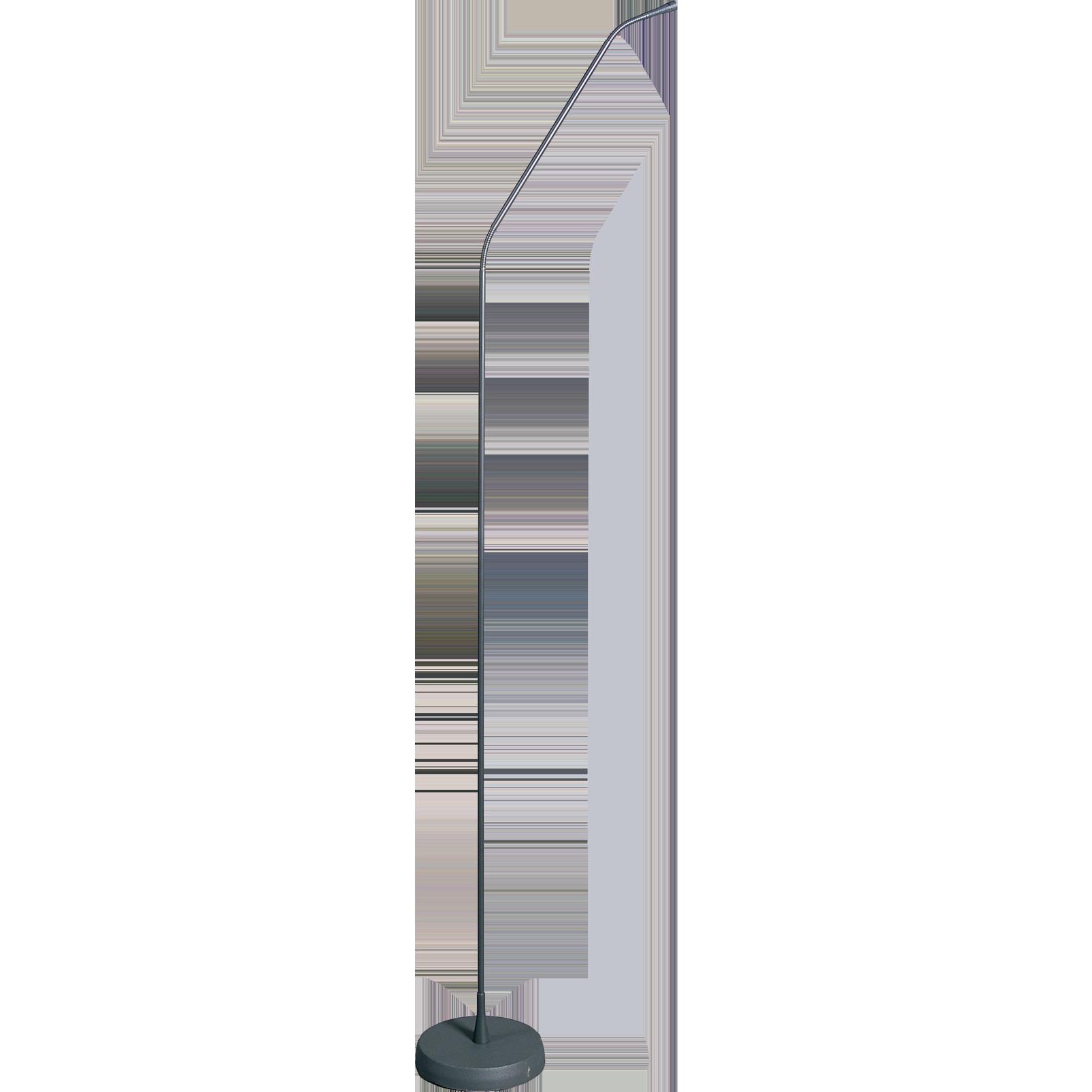 GN155 Set - Grey - High-performance gooseneck module with floorstand - Hero