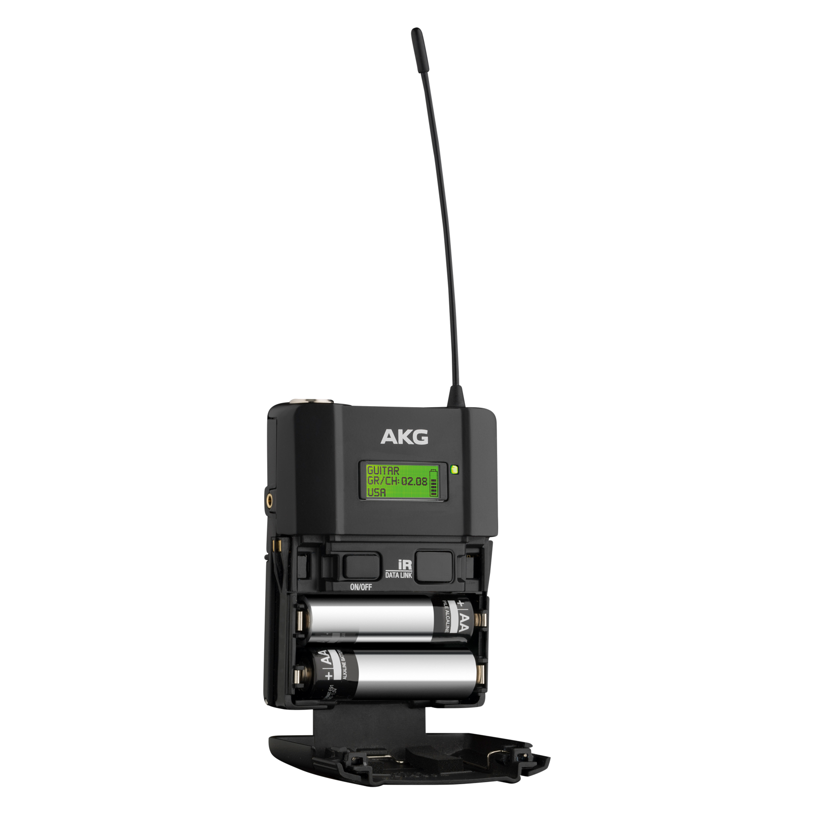 DPT800 Band1 50mW - Black - Reference digital wireless body pack transmitter - Detailshot 1